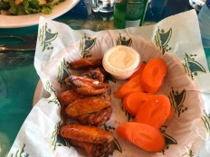 Belize Landshark Grill Hot Wings
