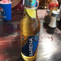 Roatan West Bay Banarama local beer
