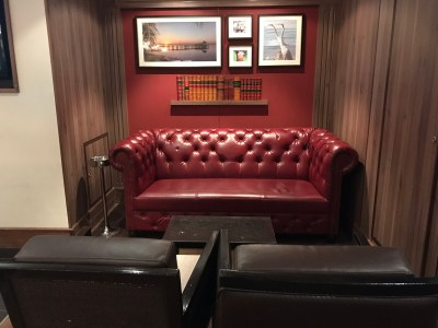 Seating by Cigar lounge