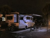 RV Exterior Nighttime