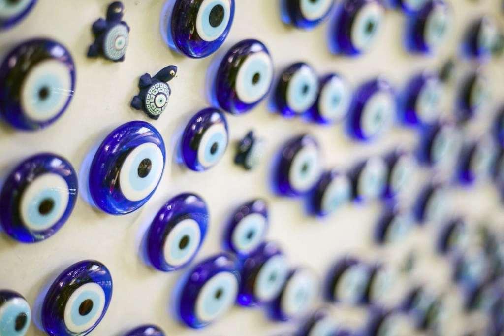 Amuletos nazar contra el mal de ojo