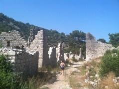 Ruins of Olympos