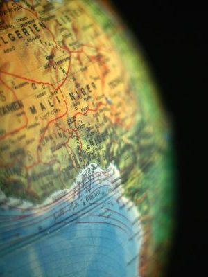 Globe, Africa