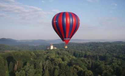 Hot Air Balloon Flight from Prague