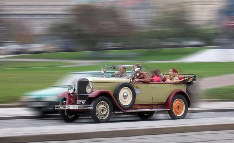 Vintage Car Tour of Prague