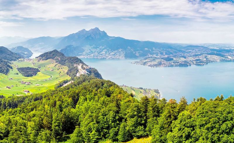 Lucerne Day Tour From Zurich: Boat Trip to Burgenstock + Funicular Railway