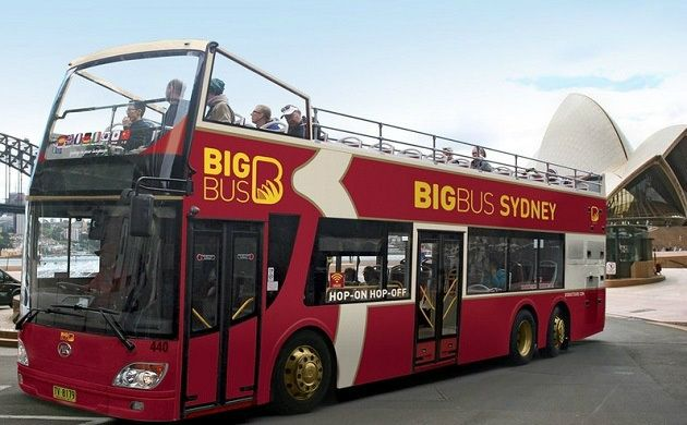 Sydney Hop-On Hop-Off Big Bus 48-Hour Ticket