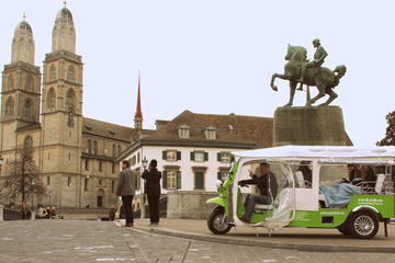 Central Zurich and Surroundings Tour by Electric Tuk Tuk