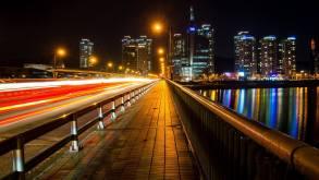 nighttime viewpoint in daejeon