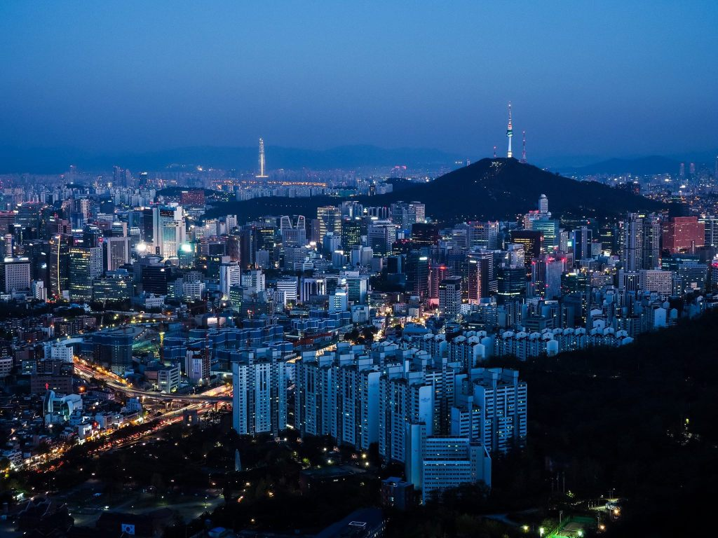 Ansan Seoul Subway Map.5 Of Seoul S Best Nighttime Viewpoints South Korea