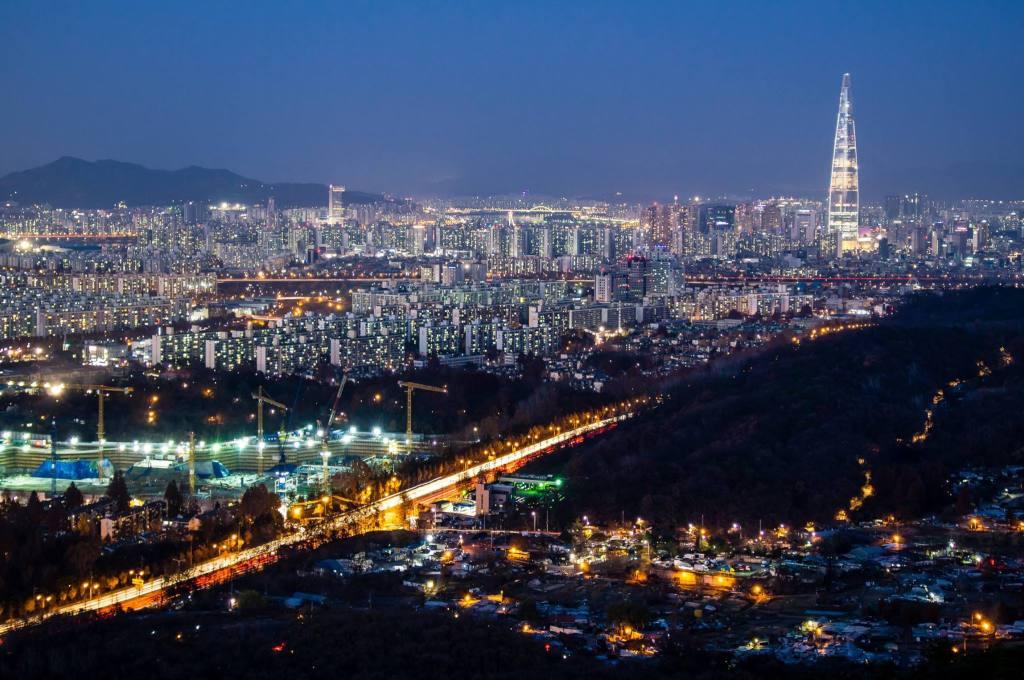 Seoul's Best Nighttime Viewpoints #5 - Guryongsan