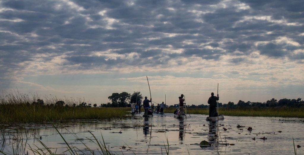 Mokoro Day Trip on the Okavango Delta in Botswana