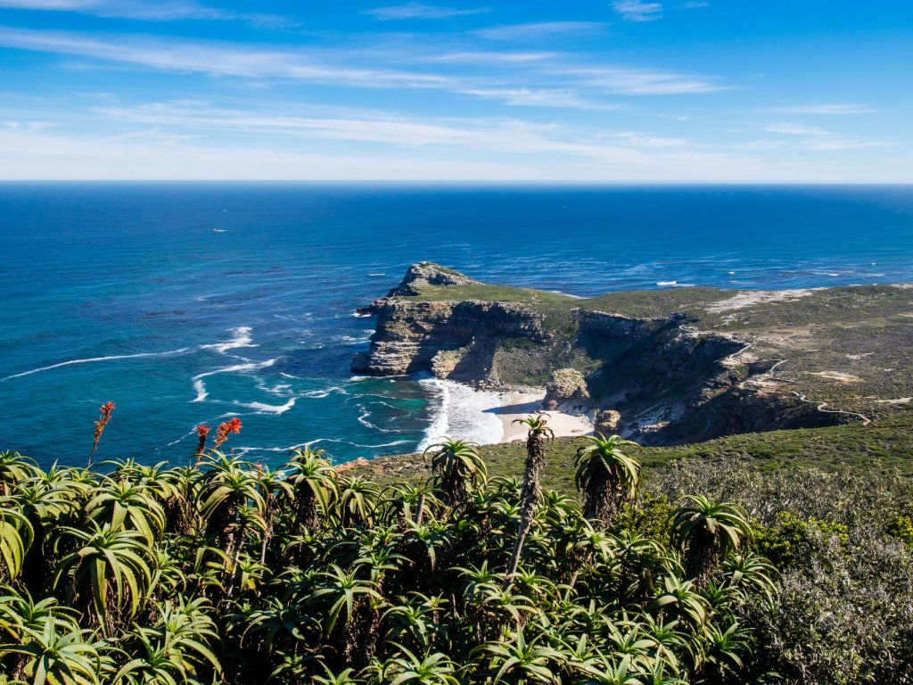 Cape Point Lighthouse, South Africa on Cape Peninsula Tour