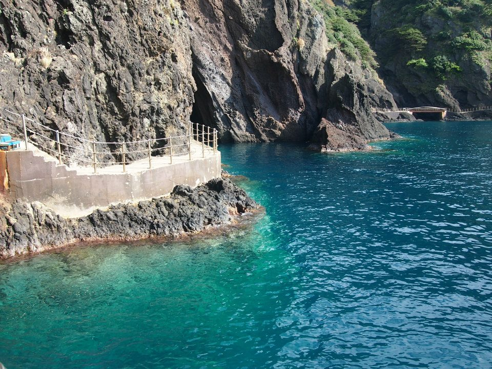 Beautiful waters of Ulleungdo, South Korea