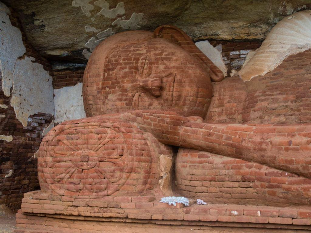 Reclining Buddha at Pidurangala Rock Temple
