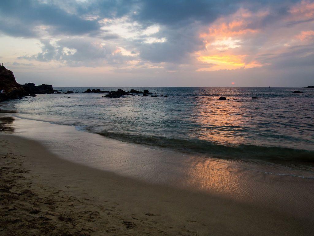 Sunset in Mirissa, Sri Lanka