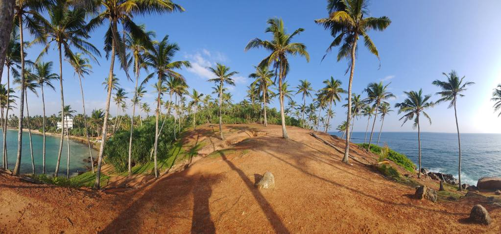 Panorama at Coconut Tree Hill, Mirissa
