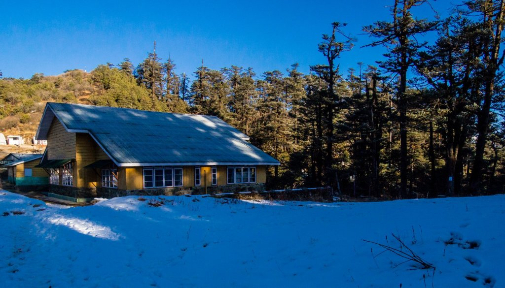 Lodge in Molley on the Sandakphu Trek