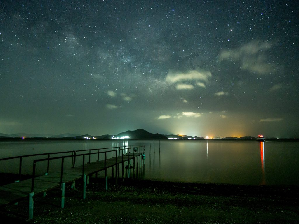 Stunning Night Sky in Boseong