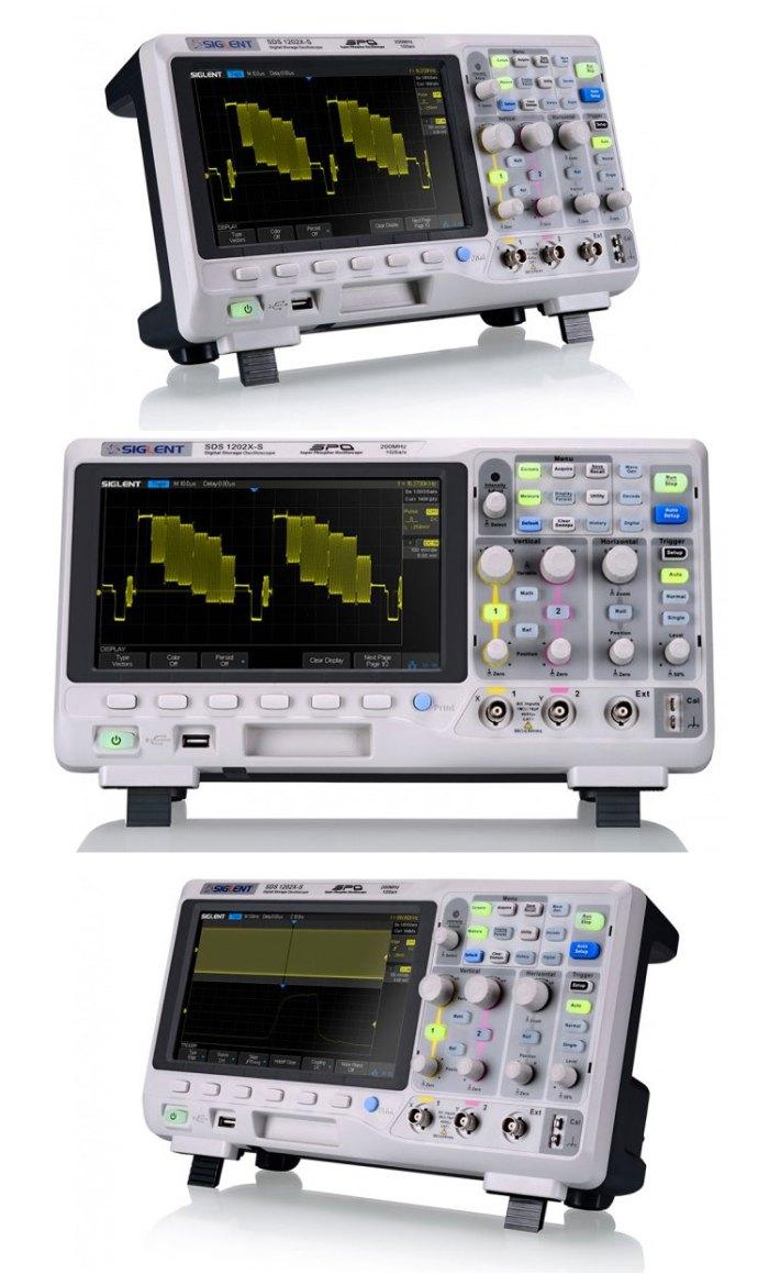 Oscyloskopy cyfrowe SIGLENT seria SDS1000X