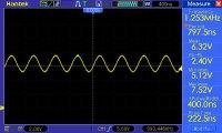 sinusoida f=1,253MHz