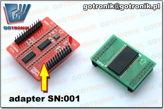 adapter SN:001 i SOP44