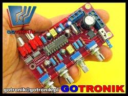 przedwzmacniacz audio LM1036N