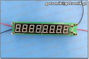 Miernik częstotliwości zbudowany w oparciu PIC16F648A