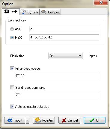 Konfiguracja klucza połączenia ABRUB
