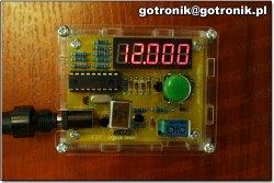 Miernik częstotliwości i tester rezonatorów
