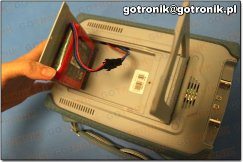 Podłączenie baterii 2