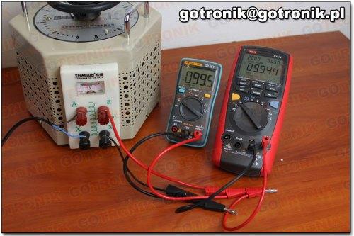 Pomiar napięcia 100V AC (102)