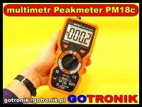 multimetr PM18C Peakmeter