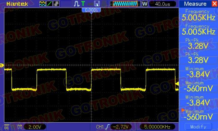 Napięcie zasilania odbiornika: 4 V