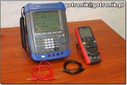 Kalibrator HT824 Hantek- przykładowe pomiary