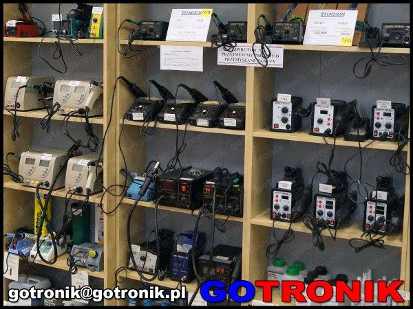 stacje lutownicze dla elektroniki