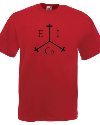 Mens Red Honourable East India Trading Company T-Shirt