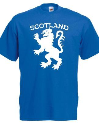 Unisex Scottish Lion Royal Banner of Scotland Flag Symbol Rugby Football T-Shirt