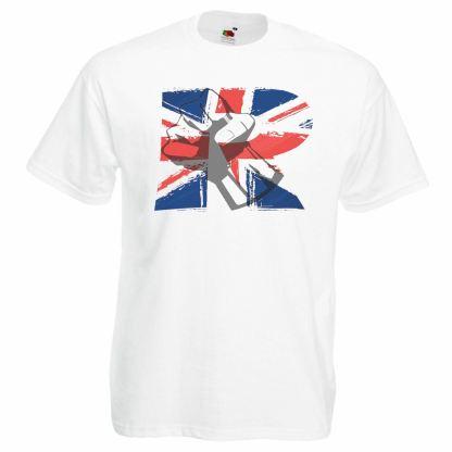 Mens United Kingdom Revolution T-Shirt UK Freedom Fighter TShirt Awake