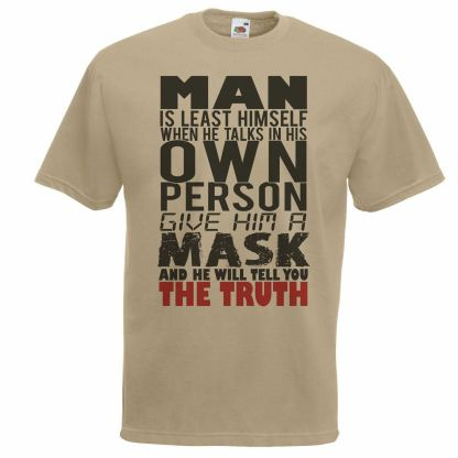 Anonymous Quote T-Shirt & FREE Vendetta Mask front