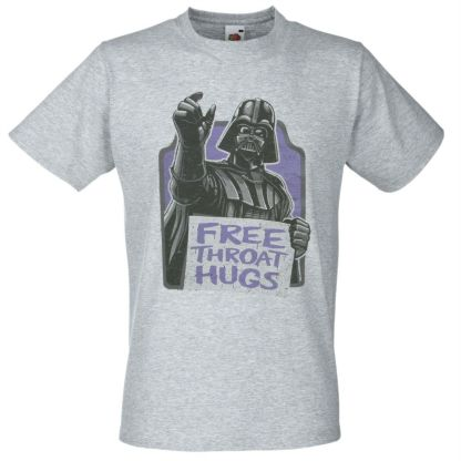 This is the Free Throat Hugs T-Shirt Funny Darth Vader Star wars. Only for fans.