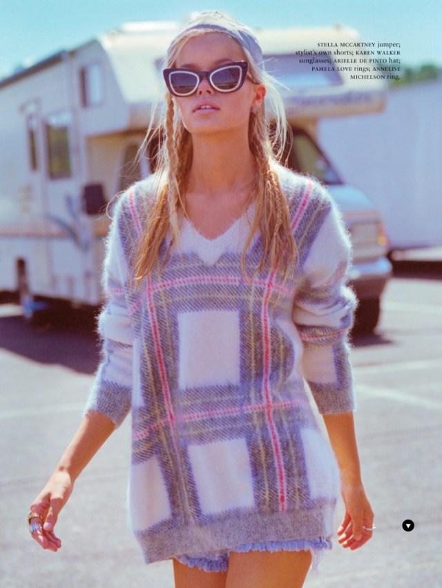 frida-aasen-estilo grunge inverno 2014 camisa xadrez shoot8