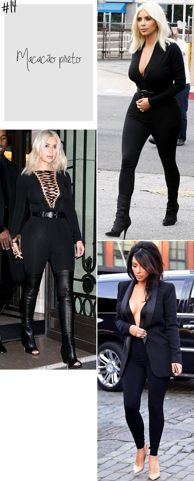 kim kardashian macacão preto e decote fetichista blog got sin 2