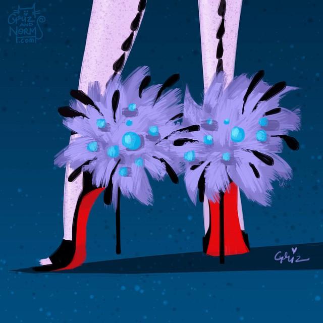 sapato inspirado nas princesas vilãs da disney blog got sin moda shoes fashion Yzma christian Louboutin