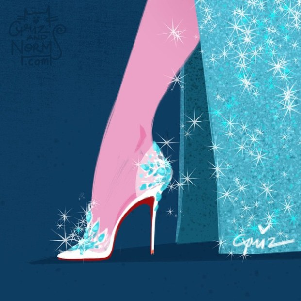 sapatos princesas disney shoes princess blog got sin elsa frozen louboutin