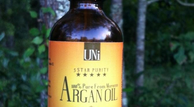 UNi 100% Organic Pure Moroccan Argan Oil Review