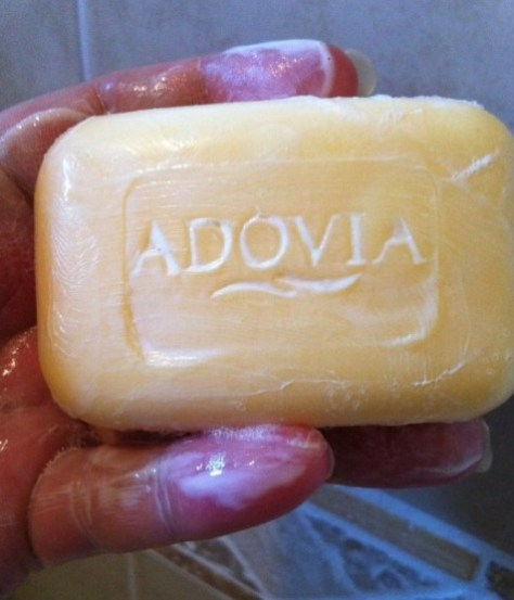 Adovia Sulfur Soap with Dead Sea Salt for Face & Body