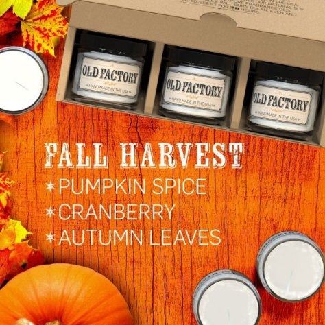 Fall Harvest gift set  from Old Factory