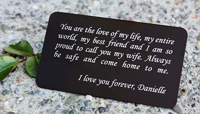 sentimental gifts for husband