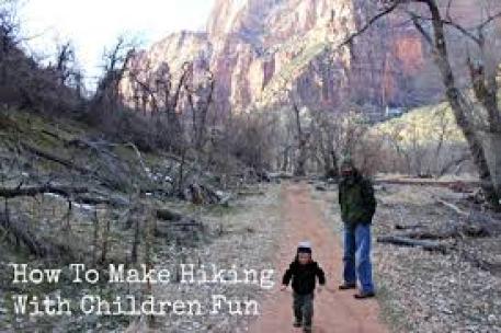 Fun Hiking with children
